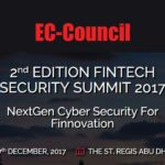 Panel discussion at FinTech Security Summit in Abu Dhabi